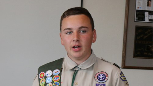 Social Applications Help Eagle Scout Launch Campaign