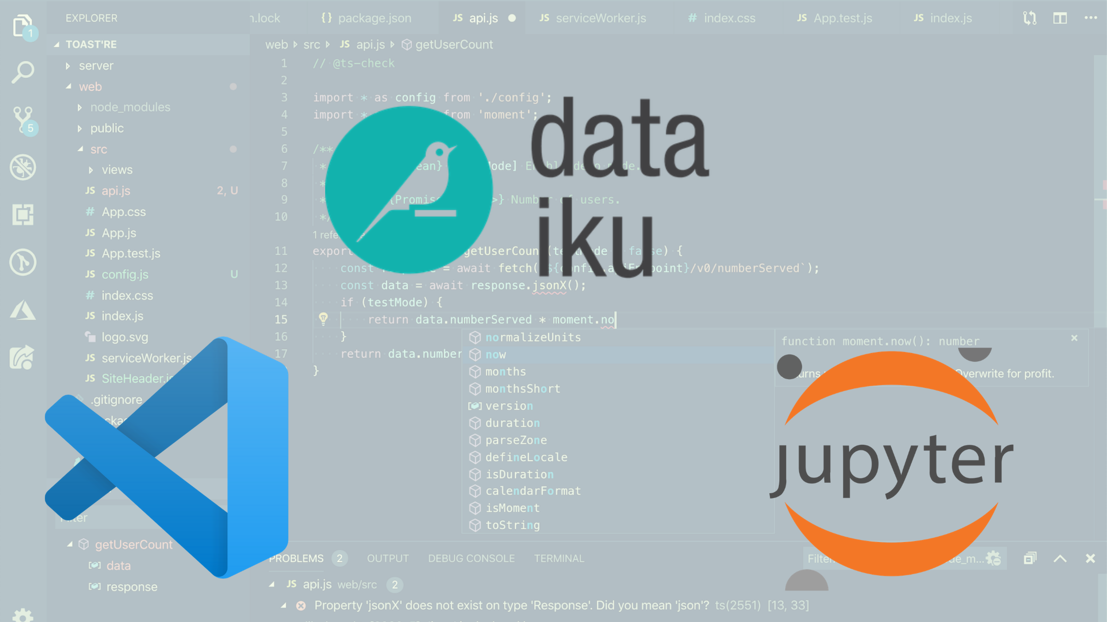 Visual Studio Code in a Dataiku World